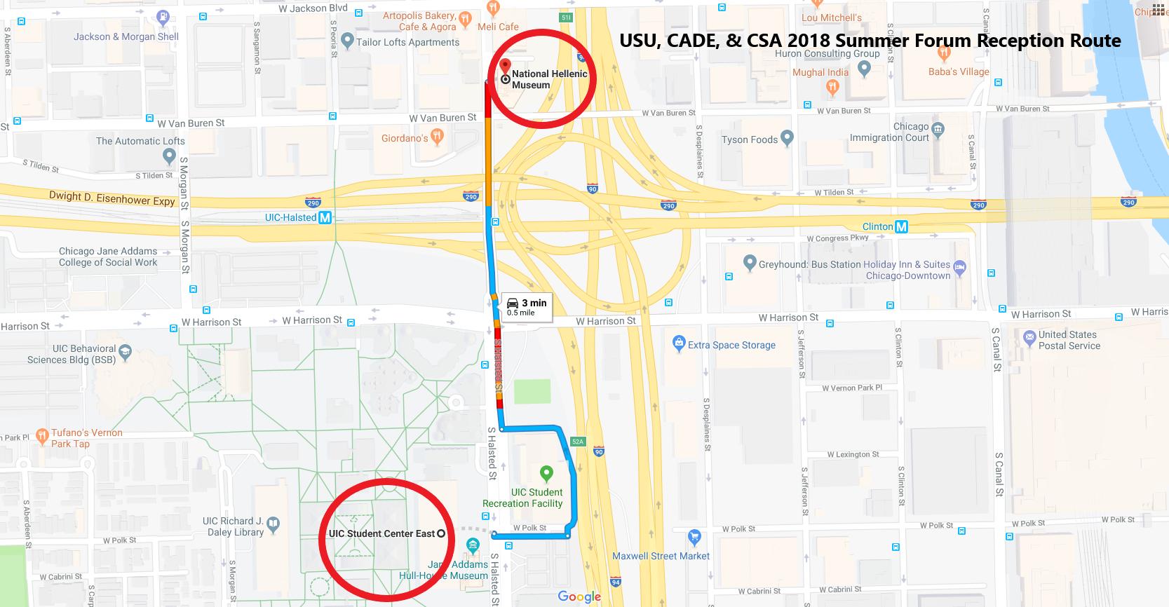 Shuttle Map Summer 2018 Reception Route (002)