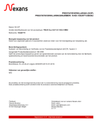 Prestatieverklaring (DoP)