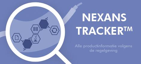 Nexans tracker, nieuwe online tool om de REACh-conformiteit te kunnen checken