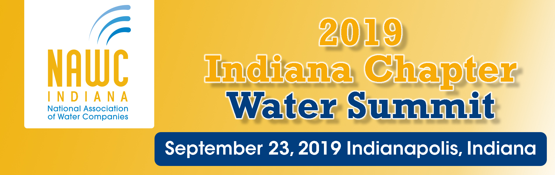 2019 Indiana Chapter Water Summit