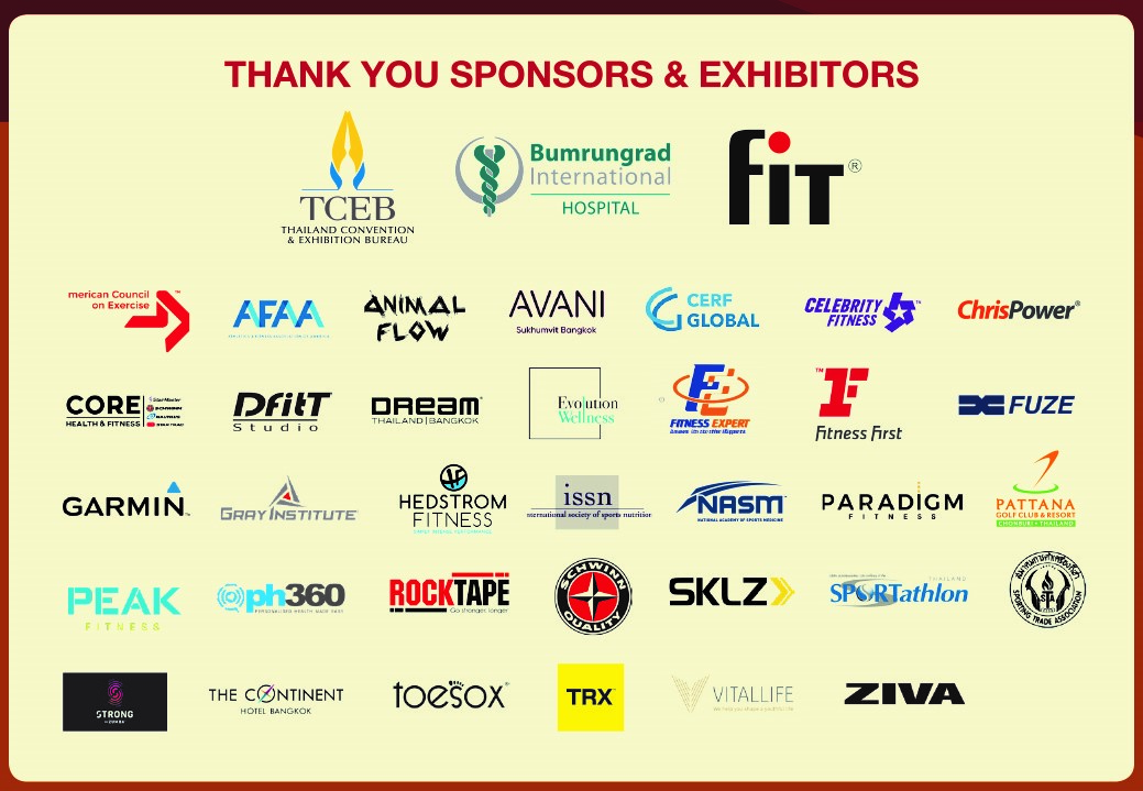 Overview of all expo & sponsorship logos 12 July 2