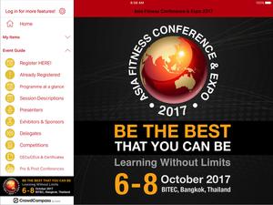 Screenshot AFC App