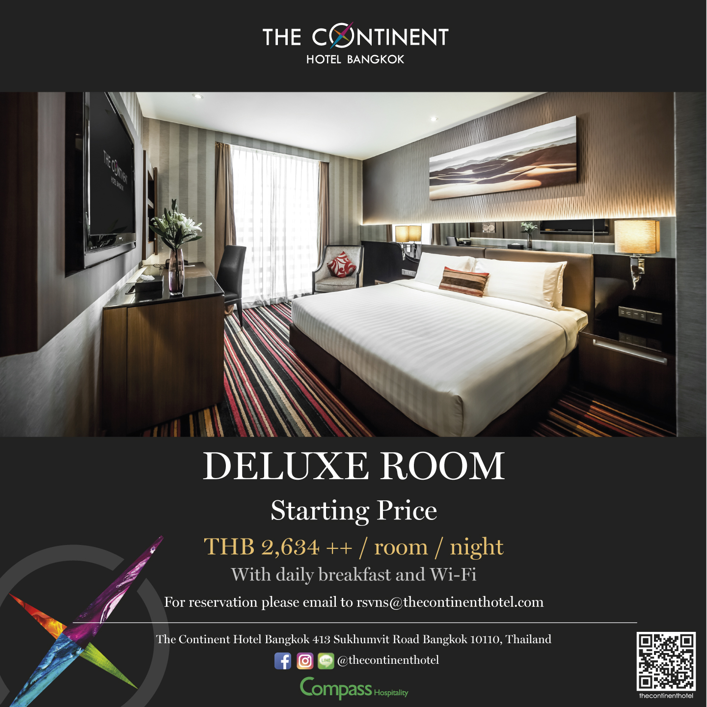 Continent Hotel Flyer