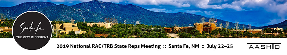 2019 National Research Advisory Committee and TRB State Representatives Meeting