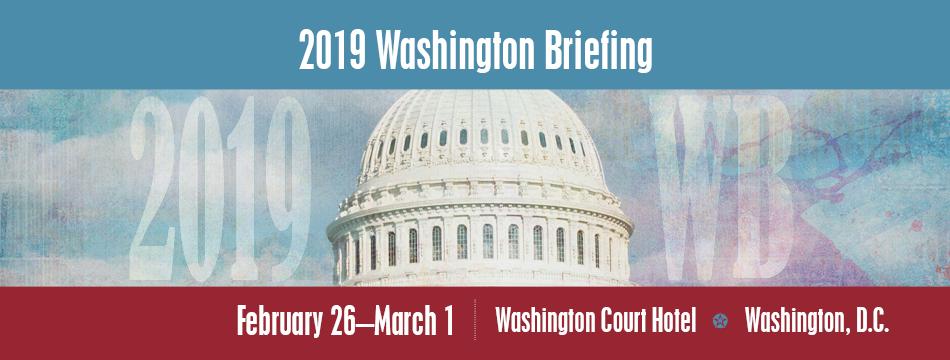 AASHTO 2019 Washington Briefing