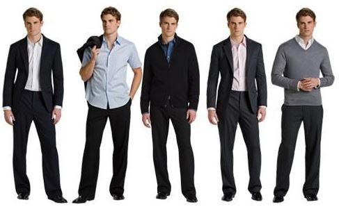 Men Business Casual