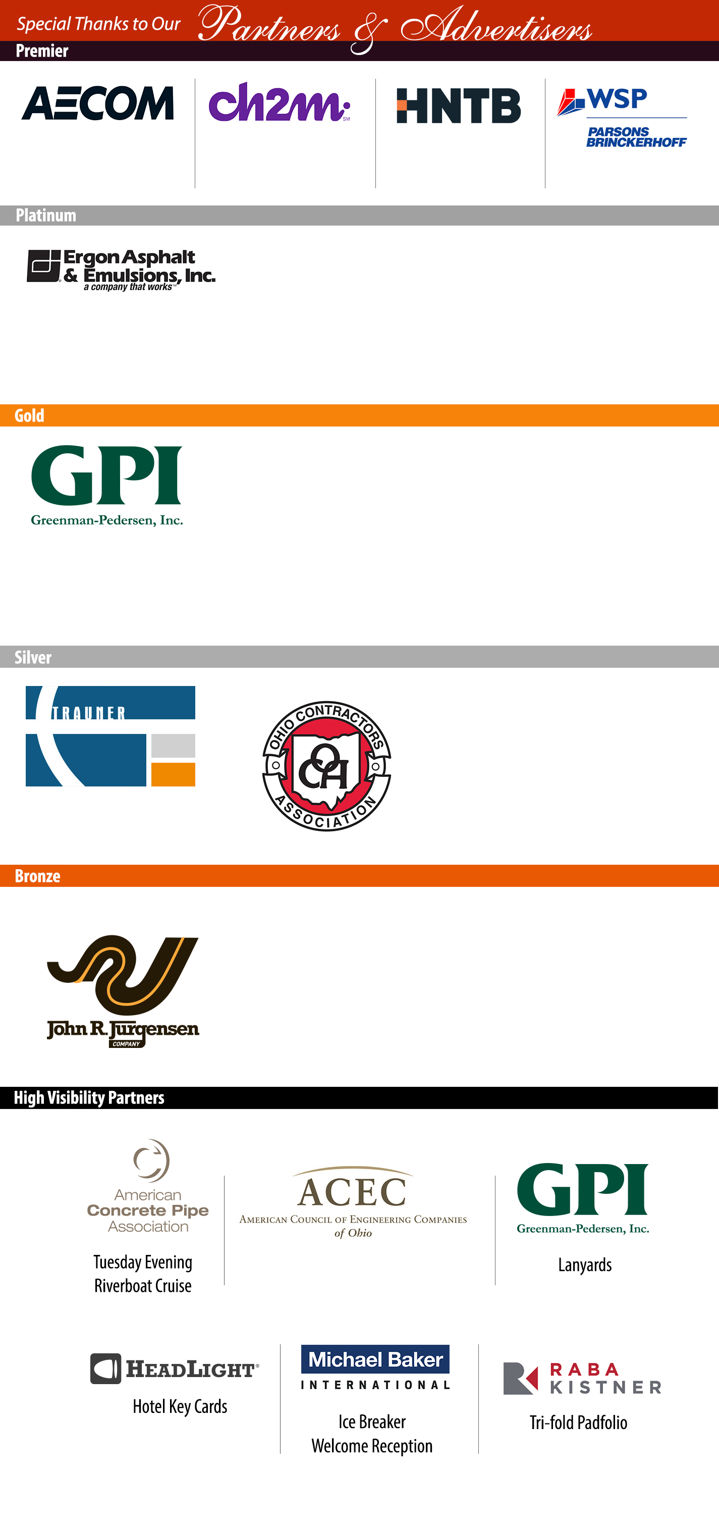 AASHTO Partnering banner