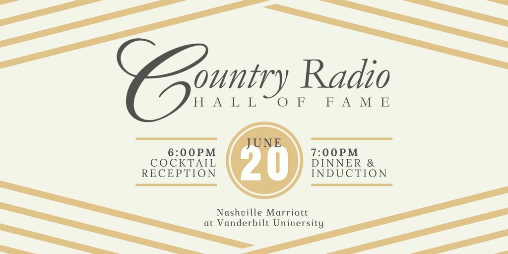 Country Radio Hall of Fame 2018