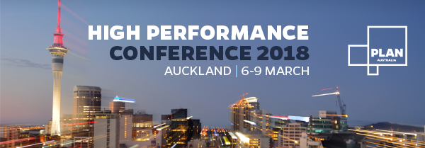 PLAN Australia 2018 High Performance Conference