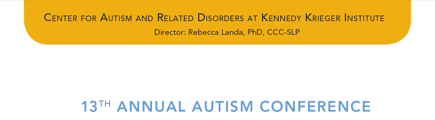 13th Annual Autism Conference