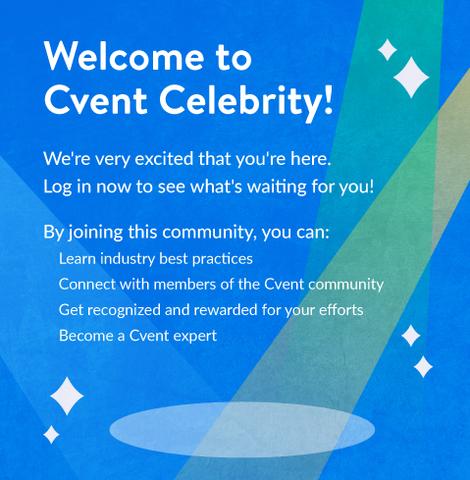 Cvent Celebrity