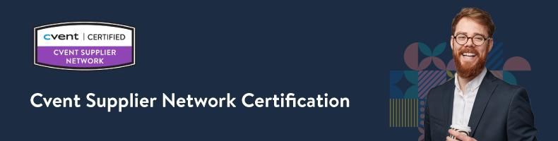 Cvent Supplier Network Certification (NAM)