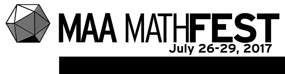 MAA MathFest 2017