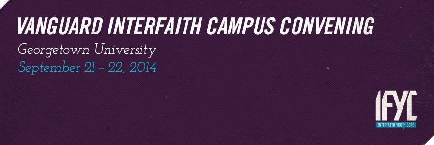 Vanguard Interfaith Campus Convening