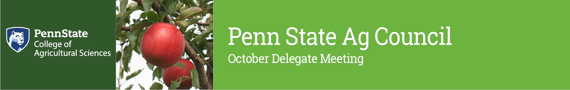 2017 Penn State Ag Council October Delegate Meeting