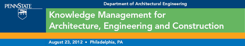 Knowledge Management for Architecture, Engineering and Construction