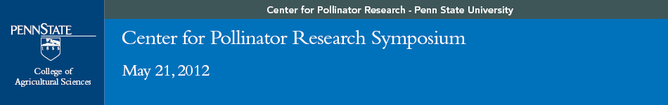 Center for Pollinator Research Symposium