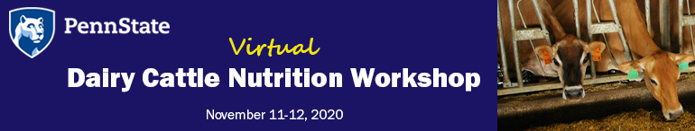 2020 Dairy Cattle Nutrition Workshop