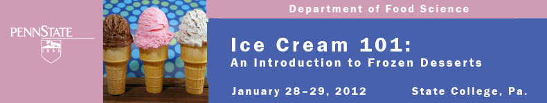Ice Cream 101: Introduction to Frozen Desserts 2012