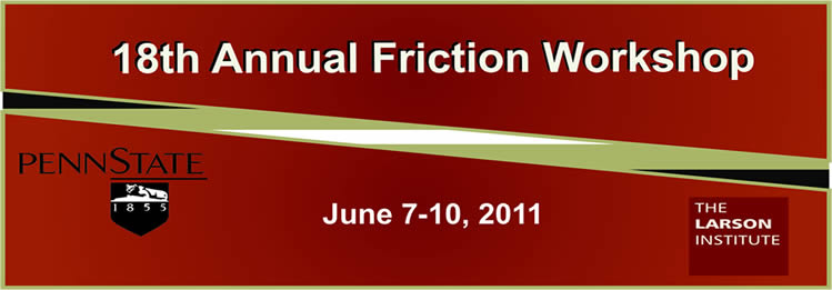 18th Annual Friction Workshop