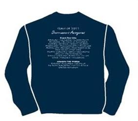Sweatshirt back photo