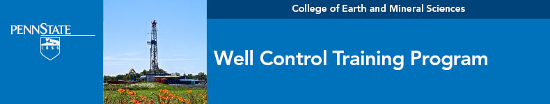 Well Control Training Program