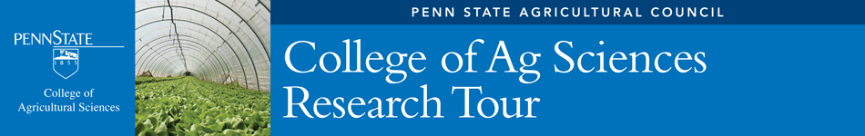Penn State Ag Council - College of Ag Sciences Research Tour 2014