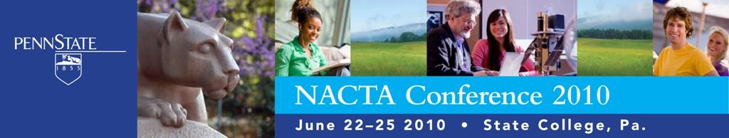 2010 NACTA Conference