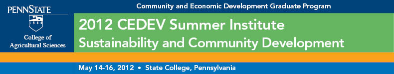 2012 CEDEV Summer Institute