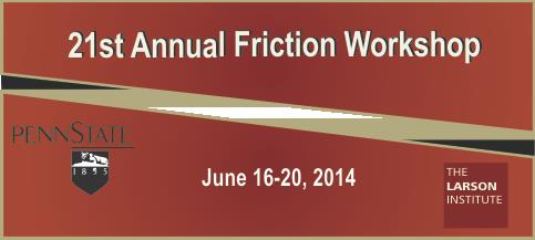 2014 Friction workshop Banner