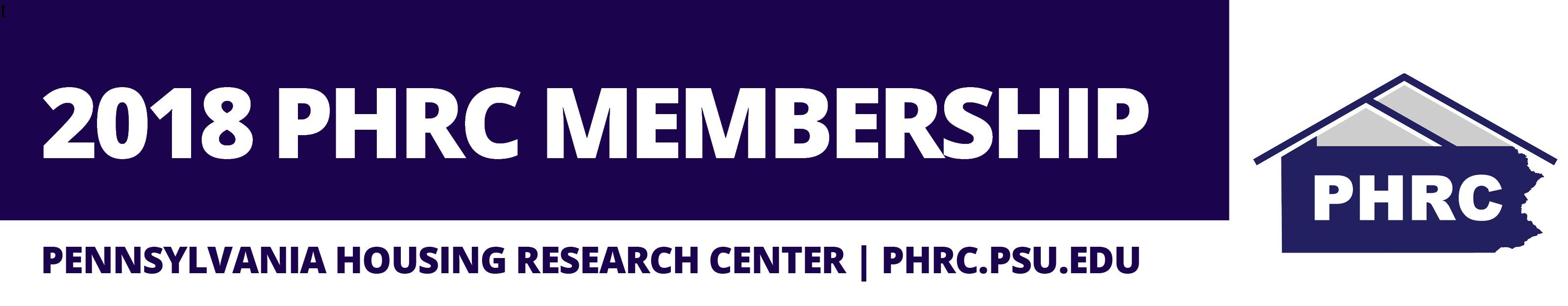 2018 PHRC Membership