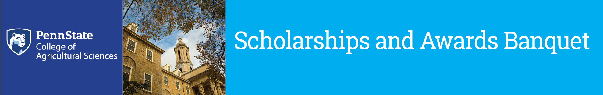2016 Scholarships and Awards Banquet