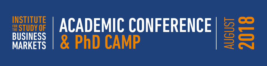 ISBM PhD Camp & Academic Conference for Research for B2B Markets