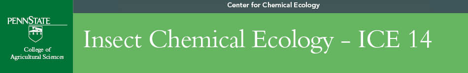 Insect Chemical Ecology-ICE 14