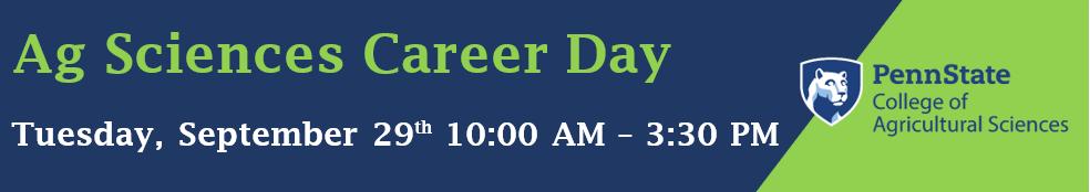Ag Sciences Career Day 2020