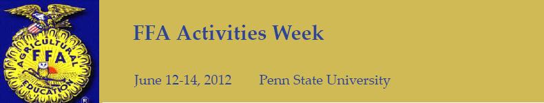 FFA Activities Week