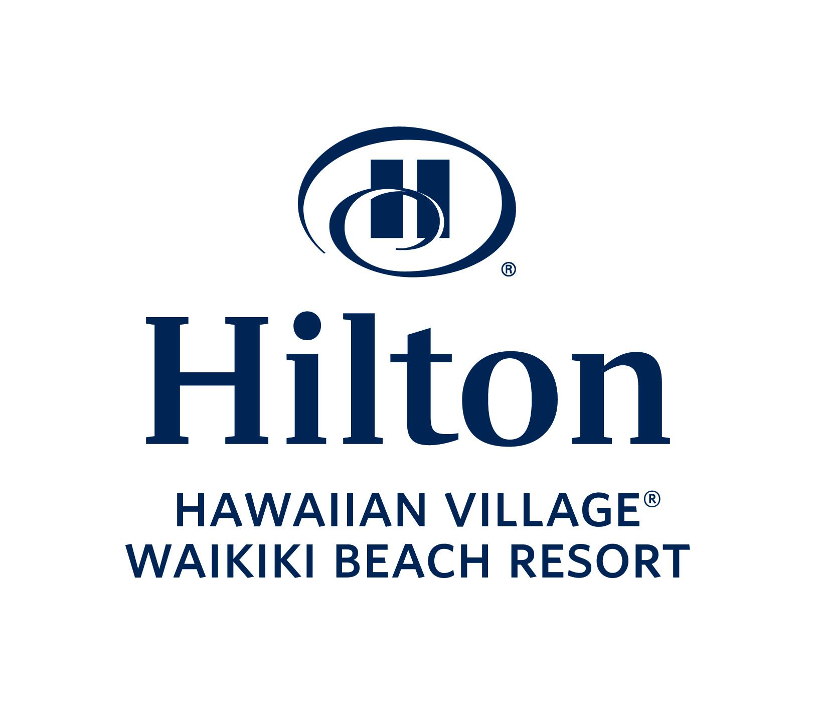 Hilton Hawaiian Village Waikki logo_stacked_color_