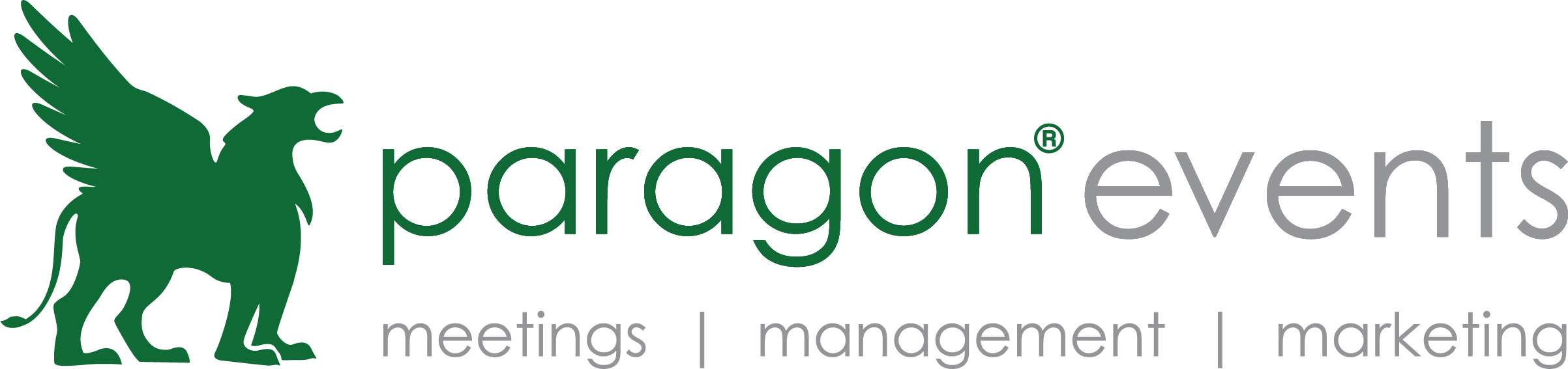 Paragon_Meetings_Green_Gray_Horizontal_Trademark