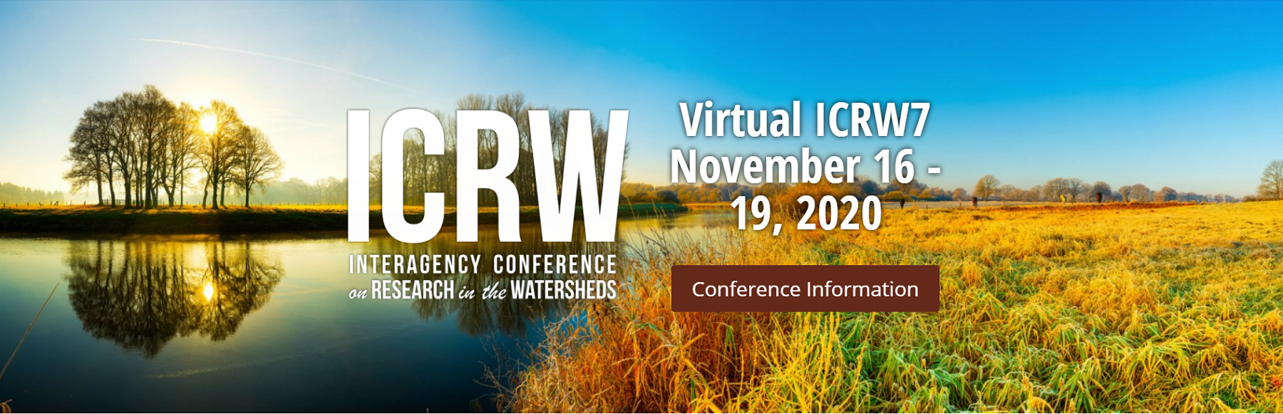 Virtual 7th Interagency Conference on Research in the Watersheds (ICRW7)