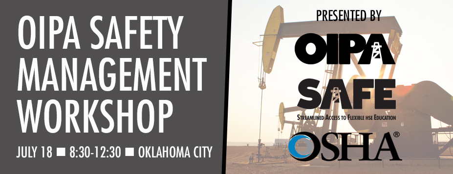 OIPA Safety and Health Program Management Workshop