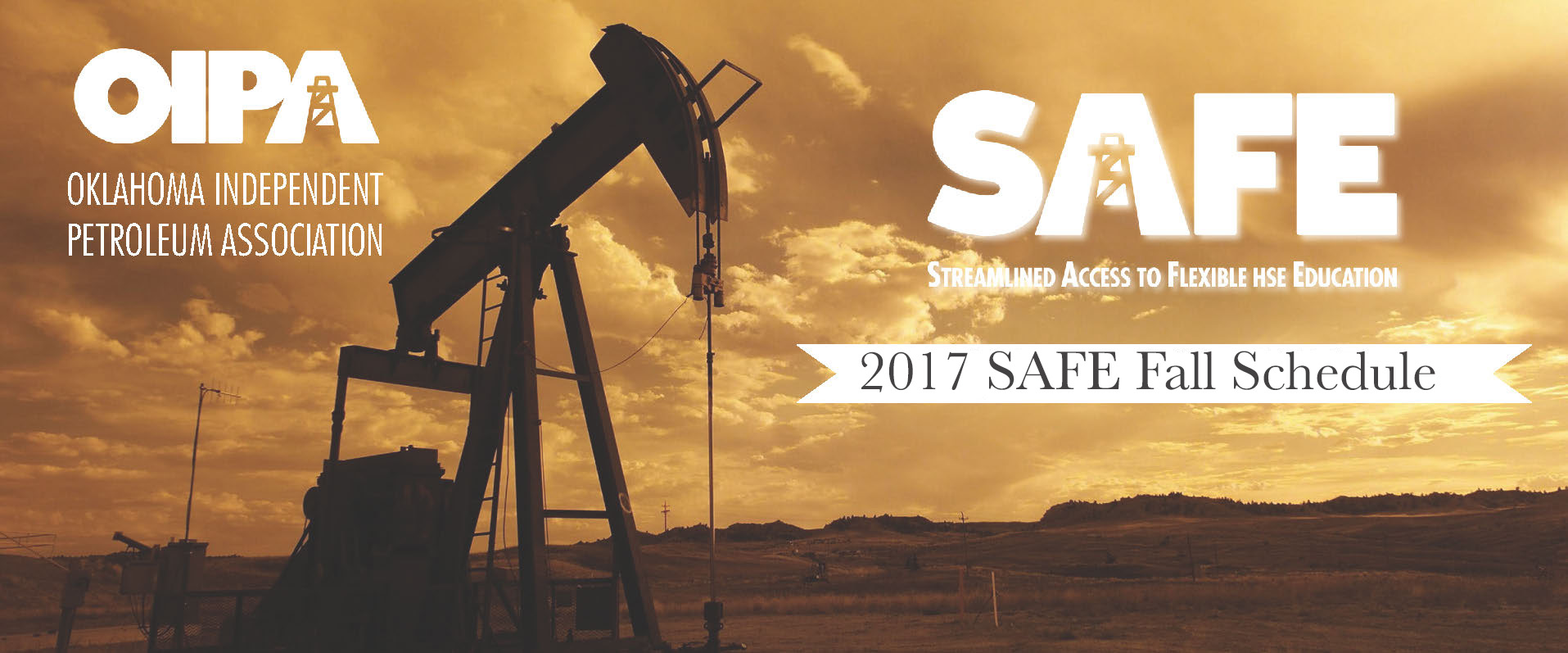 OIPA Fall 2017 SAFE Schedule