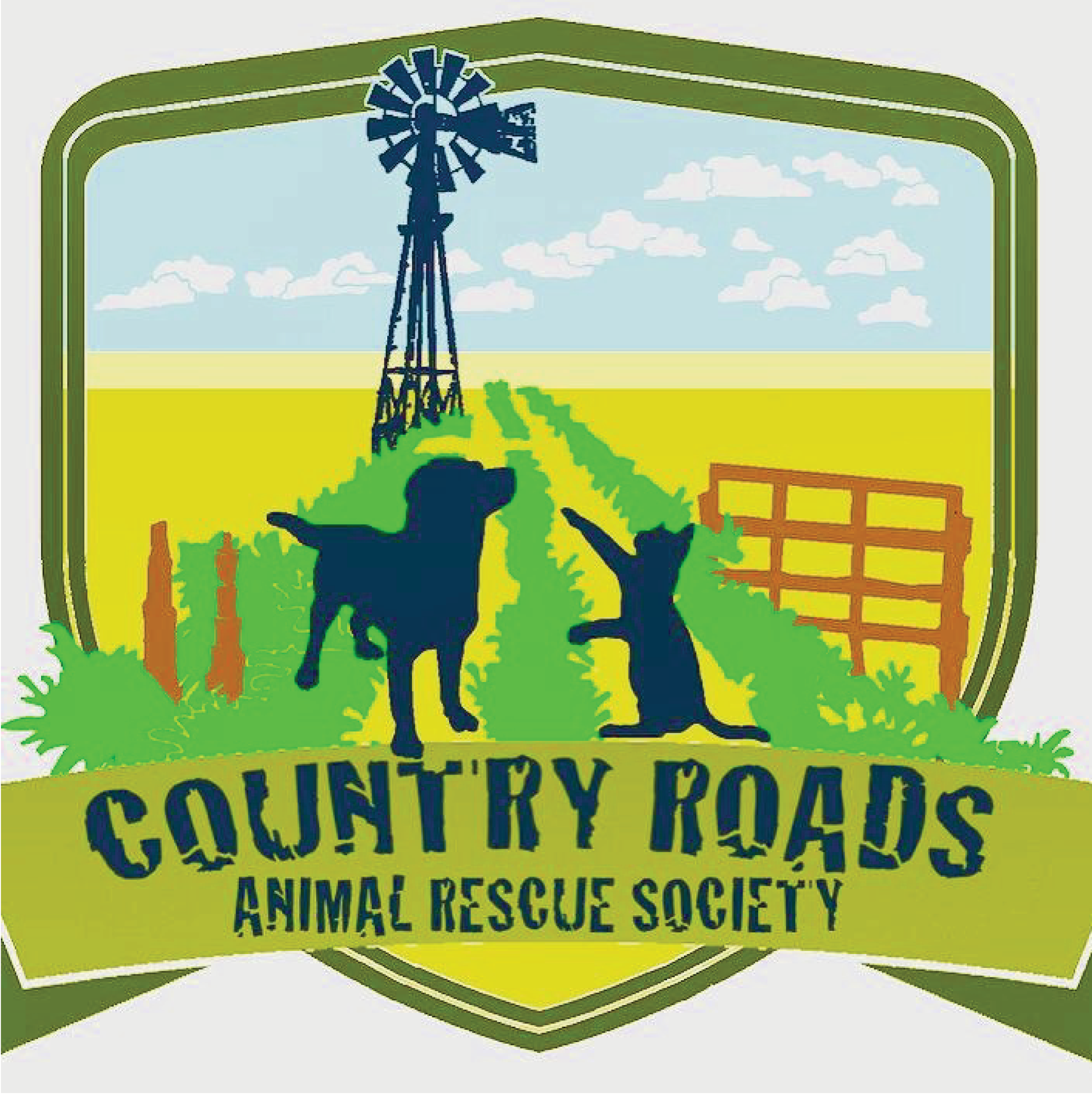 Country Roads Animal Rescue Society LOGO