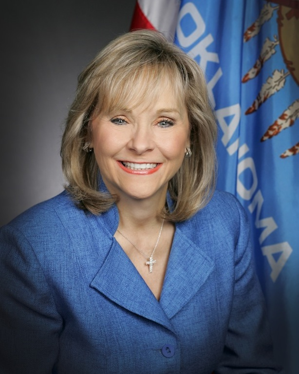 Official Press Photo of Governor Mary Fallin