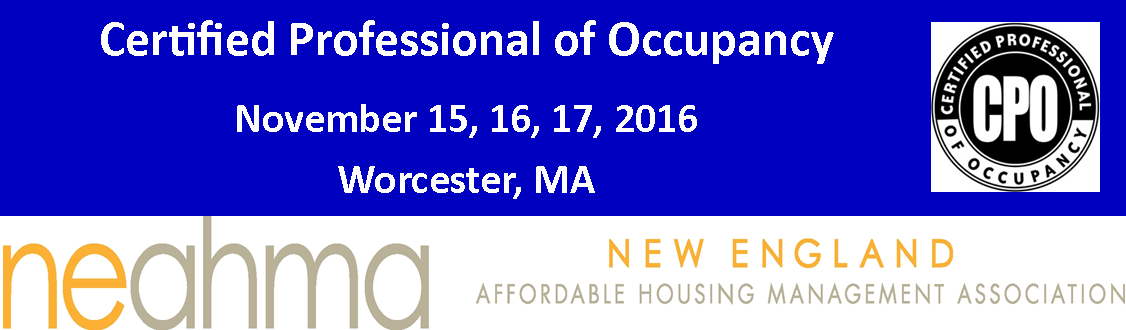 Certified Professional of Occupancy (CPO)