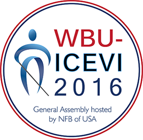 WBU-ICEVI 2016, General Assembly hosted by NFB of USA