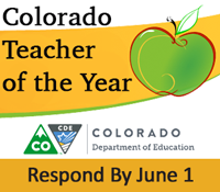 Colorado Teacher of the Year application