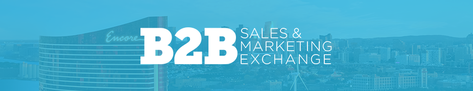 B2B Sales and Marketing Exchange 2019