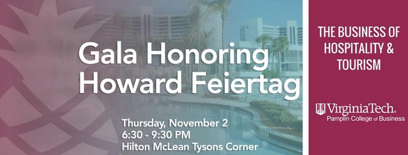 Gala Honoring Howard Feiertag