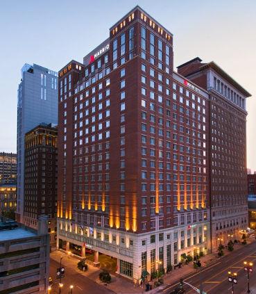 Marriott St. Louis Grand hotel