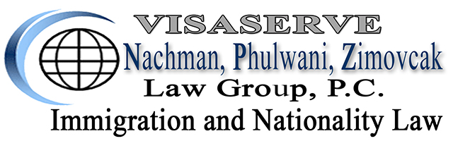 Nachman Phulwani Zimovcak (NPZ) Law Group, P.C. is an Immigration Law firm which specializes in U.S. and Canadian Immigration. NPZ provides corporate and business immigration law services to organizations ranging in size from Fortune 100 companies to sole proprietorships in addition to providing services related to family based immigration matters. Members of the NPZ Team are sensitive to the needs of our clients and have a unique understanding of how to guide clients comfortably through the processes. Our staff speaks Gujarati, Hindi, Spanish, French, Japanese, Korean, Nepali, Slovak, Czech, Russian, Chinese, German, American Sign Language, as well as English. We secure Nonimmigrant Visas (H-1B, L-1, O-1, R-1, U Visa, E Visa, etc.) and Immigrant Visas (Permanent Resident Status or Green Card, PERM, NIW, etc) as well as provide assistance with Consular Processing, Waivers, and Removal Defense. We offer Training Programs in Employment Eligibility Verification, Employer Sanctions and E-Verify Compliance, Social Security Mismatch, and ICE's IMAGE Program and Best Practices for Employers to avoid discrimination. Our offices are located in New Jersey, New York, Indianapolis, Chicago and Affiliated Offices in India (Ahmedabad, Mumbai). Please visit us at http://www.visaserve.com, call 201-670-0006, or E-mail: info@visaserve.com